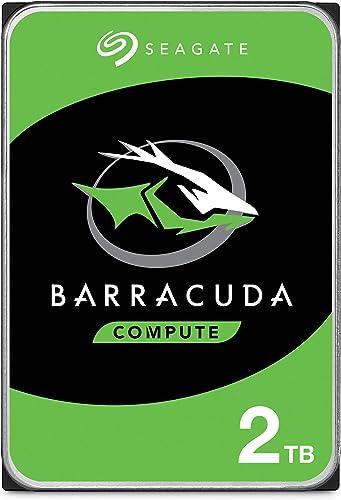 Seagate BarraCuda 2TB Internal Hard Drive HDD – 3.5 Inch SATA 6Gb/s 7200 RPM 256MB Cache 3.5-Inch – Frustration Free ...
