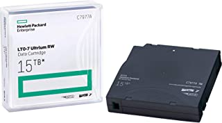 HP LTO Ultrium-7 Data Cartridge, 20 x LTO Ultrium 7-6 TB / 15 TB - bar Code Labeled C7977AN