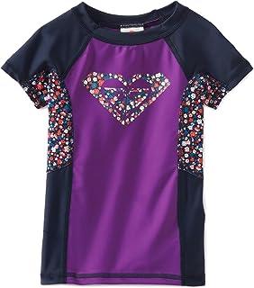 Roxy Big Girls' Color Blocked Rashguard Shirt