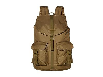 Herschel Supply Co. Dawson Light (Khaki Green) Backpack Bags