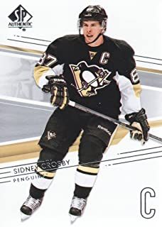2014-15 SP Authentic Hockey #16 Sidney Crosby Pittsburgh Penguins