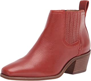 Lucky Brand Women's IDOLA Bootie Ankle Boot, SUMAC, 6.5