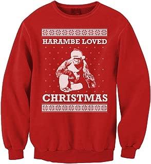 Best harambe christmas jumper Reviews