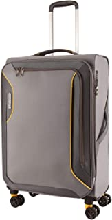 American Tourister 91973 Applite 3.0S Expandable Travel Spinner Suitcase, 71 cm Height, Lightning Grey, 71 Centimeters