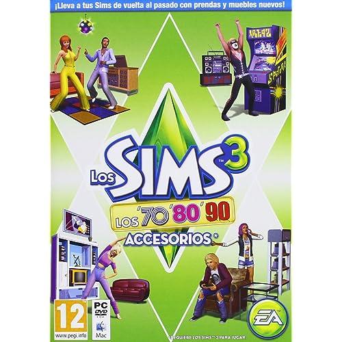 Los Sims 3: Los 70, 80 Y 90. Accesorios