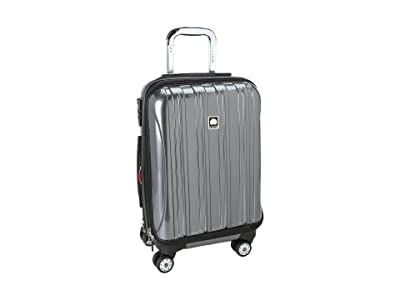 Delsey Helium Aero 19 International Carry-On Expandable Trolley (Platinum) Carry on Luggage