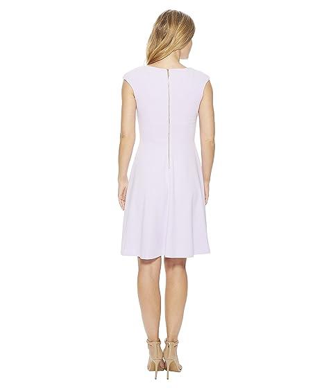 Comfortable Cheap Online Calvin Klein Cap Sleeve A-Line Dress CD8C15JL Opal Sale Excellent tIkBGpgMNe