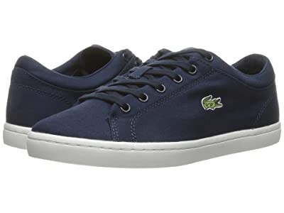 Lacoste Straightset BL 2 Canvas (Navy) Women