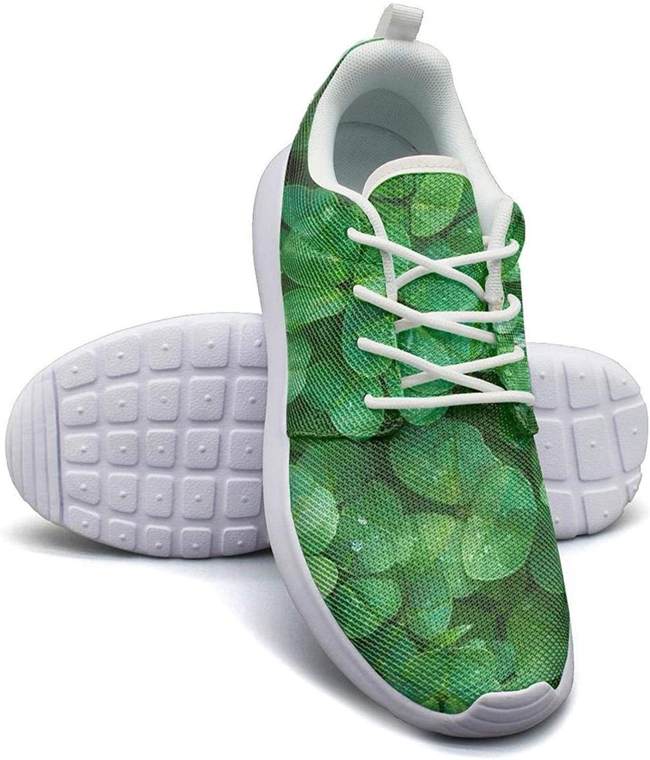 Green St Patrick's Day mesh Lightweight shoes for Women Cool Sports Running Sneakers shoes