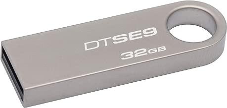 Kingston Chiavette USB Modello DTSE9H/32GB, 32 GB, USB 2.0, velocità lettura 10 MB/s, velocità scrittura 5 MB/s, grigio