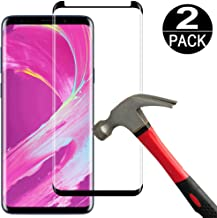 Best samsung galaxy s8 curved glass screen protector Reviews