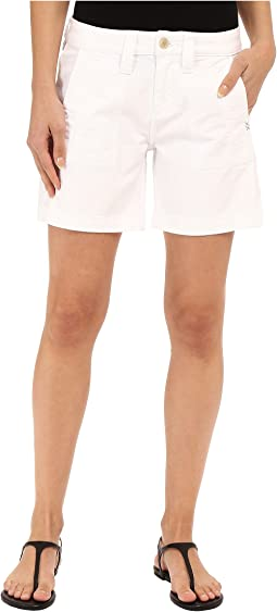 Somerset Relaxed Fit Shorts in Bay Twill
