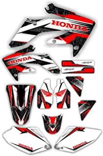 04-05 CRF250 Graphic Kit Shroud Plastic Decals CRF 250 Crf250R decal MX