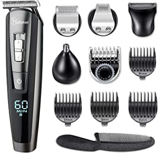 HATTEKER Hair Clippers Beard Trimmer for Men Hair Trimmer