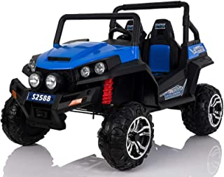 2-Seater 24v 4-Wheel Drive Ride-In Off-Road Jeep
