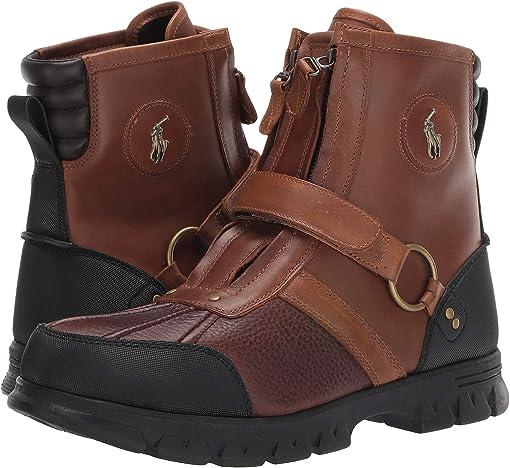 Briarwood/Tan Pitstop/Leather