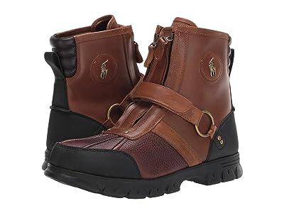 Polo Ralph Lauren Conquest Hi III (Briarwood/Tan Pitstop/Leather) Men