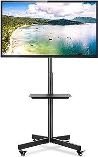 VESA Max 600 400 Capacit/é de Charge max40 kg Fleximounts TS01 Meuble TV avec Support pour Cantilever T/él/é Pivotant pour Ecran LED LCD Plasma 32 /à 65 Pouce avec 2 Etages