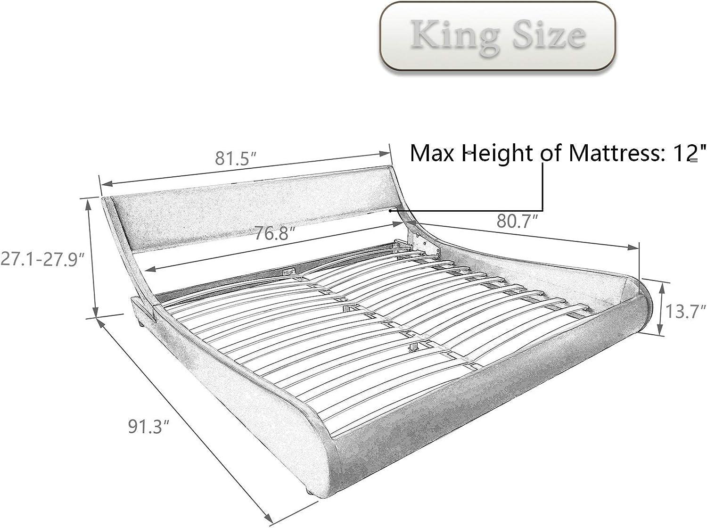 king bed platform