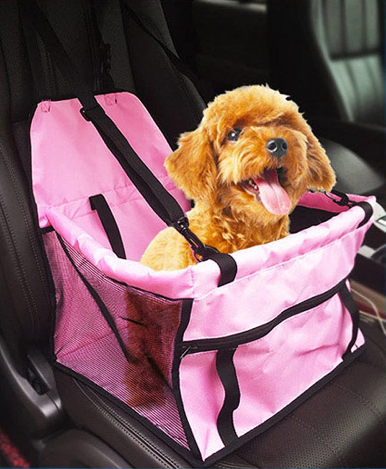 Dog car seat , Collapsible Car Pet sleeping bag Dog Seats Pet Booster Seat Carrier, Multi Function Deluxe Travel Bag for Dogs by Outdoor's Sky