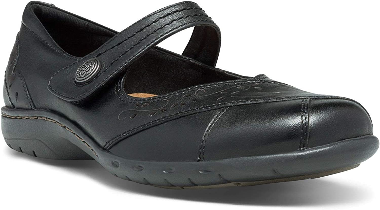 Rockport Women's Petra-Ch shoes, 5.5 B(M) US, Black