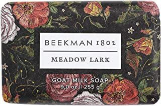Beekman 1802 – Bar Soap – Meadow Lark – Moisturizing Triple Milled Soap..