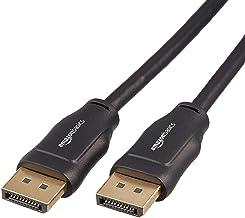 AmazonBasics DisplayPort to DisplayPort Cable, 3 Feet