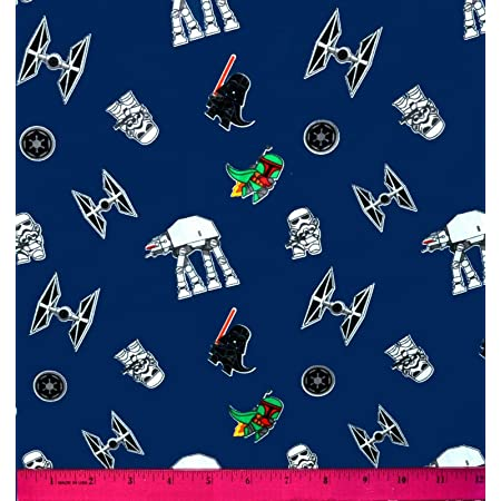 Star Wars Porg Toss Character Flannel Fabric By the yard 100/% Cotton Flannel