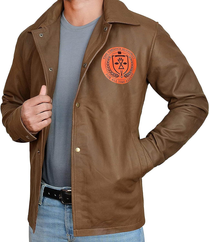 III-Fashions Men's TVA The Variant Loki 2021 Cosplay Jacket - Tom Hiddleston Prison Brown Costume Coat
