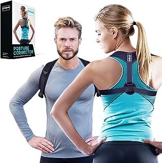 Straight to correct Back, Shoulder Holder for Men & Women–Front Back Training Back Support–One Size Fully Adjustable Shoulder Strap, Posture Corrector for Straight Back