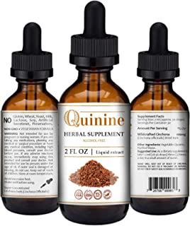 Quinine Tincture Extract Quinine Dried Bark Herbal Supplement Quinine Immune System Support Cinchona Bark L...