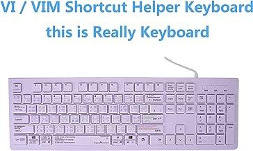 Dogxiong Vi Vim Editor Commands Tips Working Faster Shortcut Shortcuts Hot Keys USB Keyboard (Work for Unix Linux Mac OS iMac, Free BSD, Red Had,PC Window Desktop Notebook iMac MacBook,Cover)