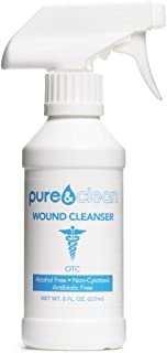 Sponsored Ad - Pure & Clean Wound Cleanser - Alcohol-Free Formula - Hypochlorous Acid (HOCl) & Oxygenated Water - For Firs...