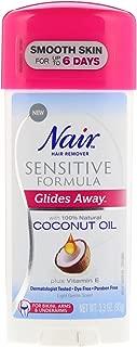 Nair Hair Remover Glides Away Sensitive Formula For Bikini Arms Underarms 3 3 oz 93 g