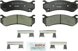 Bosch BC785 QuietCast Premium Ceramic Disc Brake Pad For: Cadillac Escalade; Chevrolet Astro, Avalanche, Express, Silverado, Suburban; GMC Safari, Savanna, Sierra, Yukon XL; Hummer H2 Front & Rear