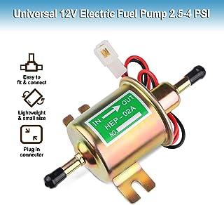 Bomba de combustible eléctrica universal de 12 V – Bomba de combustible en línea de baja presión de 12 V para cortacésped,...
