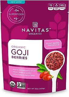 Navitas Naturals Organic Goji Berries, 16 Ounce, 15 Servings