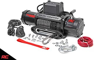 Rough Country 9,500 LB PRO Series Electric Winch w/Synthetic Rope PRO9500S