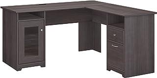 Charmant Bush Furniture WC31730K Cabot L Shaped Computer Desk, Heather Gray