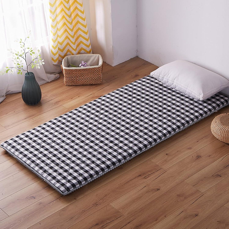 Lattice Mattress,Student Dormitory Mattress,0.9m 1.2m Single Thicken Tatami Mattress Floor mat-A 120x200cm(47x79inch)
