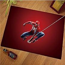 ZZXC Tapis Anime Dessin Animé Marvel Spiderman Chambre Salon Garçon Chambre Buanderie Rectangulaire Moderne Minimaliste So...