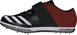adidas Men's's Adizero High Jump Track & Field Shoes Black Cblack/Zeromt/Orange, 12 UK