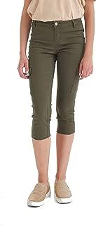 Suko Jeans Women's Cargo Capris - Stretch