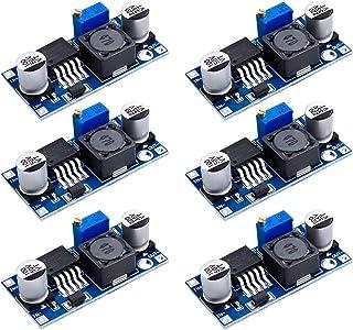 YXPCARS 6 Stücke Einstellbar DC DC Abwärtswandler 3,2 40V bis 1,25 35V Step Down Buck Converter 24V 12V 9V 5V (LM2596)