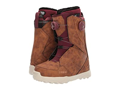 thirtytwo Lashed Double BOA Snowboard Boot (Brown) Women