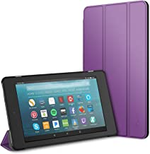JETech Case for Amazon Fire 7 Tablet (7th Generation 2017 Release Only) Smart Cover with Auto Sleep/Wake (Purple)