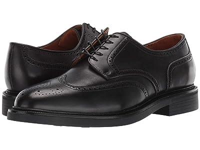 Polo Ralph Lauren Asher Wing Tip (Black Calf Leather) Men