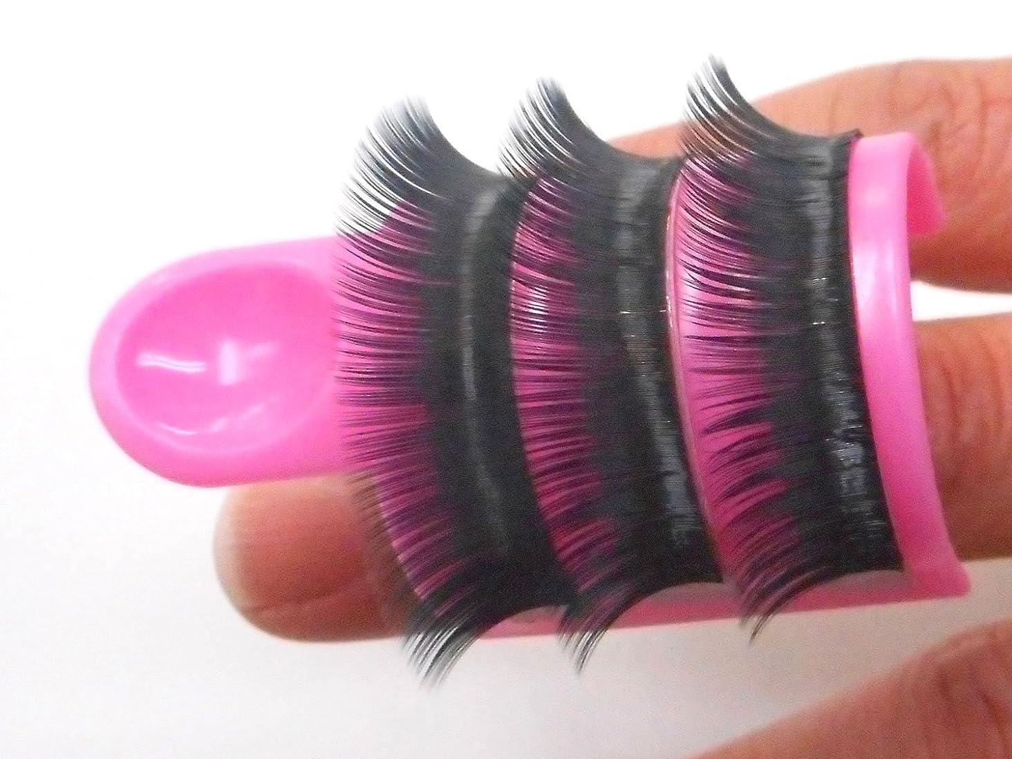 評価する半円概念まつげエクステ リング ホルダー ピンク グルースタンド付き まつ毛エクステ アイラッシュ  プラスチック製 Eyelash Extension Glue Ring holder 1セット 1個入り
