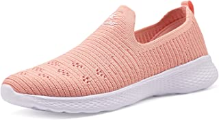 Women's Slip-On Shoes Casual Mesh Walking Sneakers Comfortable Shoes
