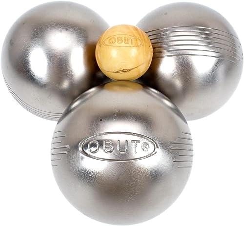 Obut Loisir inox LOOP SIDE, jeu de 3 boules